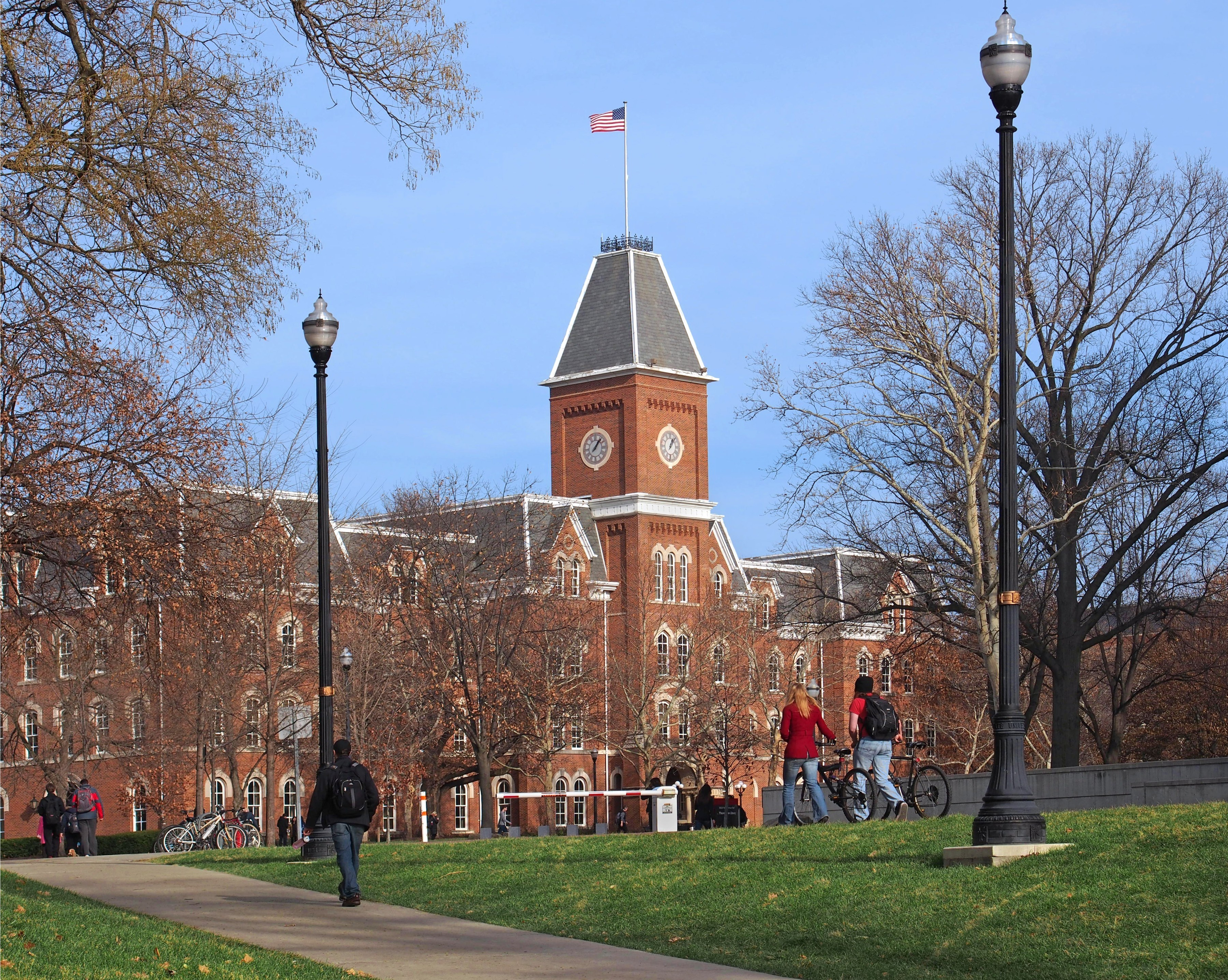 What is the difference between a liberal arts college and a research university?