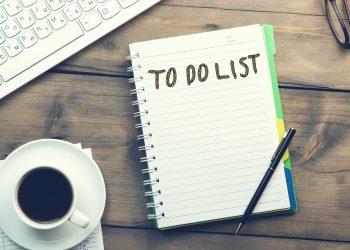 Seniors: October Checklist